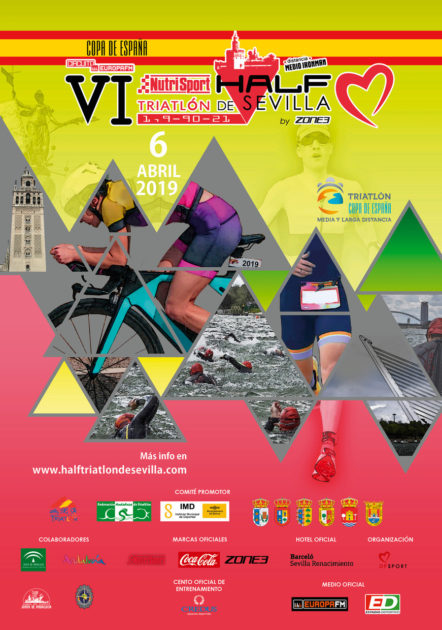 El VI Nutrisport Half Triatlón De Sevilla By Zone3 Abrirá El Circuito De La Copa De España