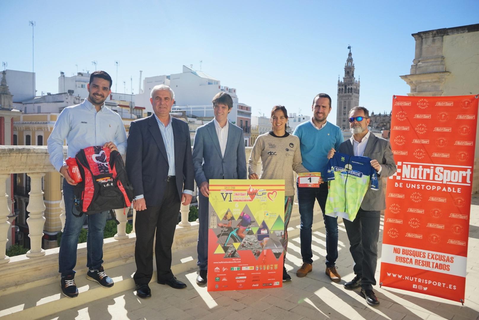 Más De 800 Deportistas Participan En El VI Nutrispot Half Triatlón De Sevilla By Zone 3