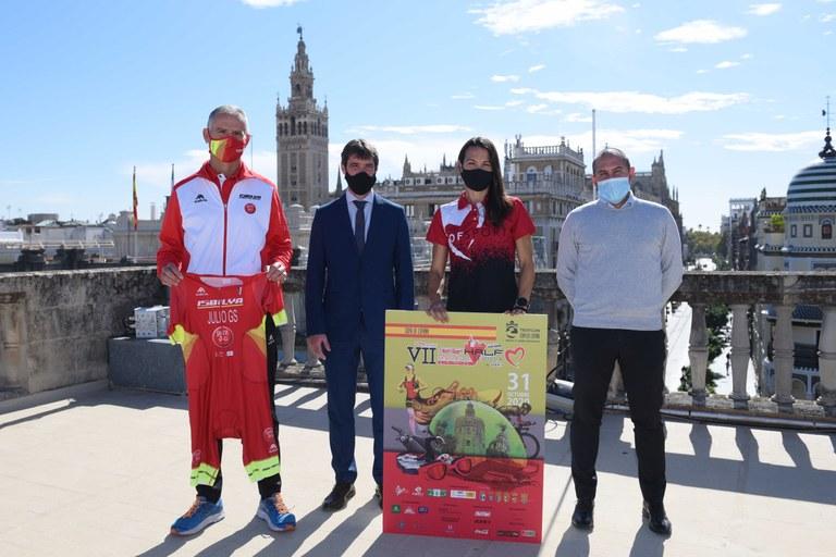 Sevilla Acoge El Nutrisport Half Triatlón Para Deportistas Federados Con Estrictas Medidas De Seguridad Y Distancia Social